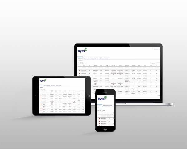 Software Elytra para gestión de sistemas anticaídas