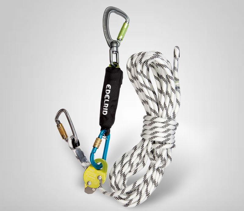 Absorbedores en cuerda de posicionamiento